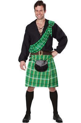Kiltsman Fighting Irish Lucky Leprechaun St Patrick's Day Adult Costume - Leprechaun Costume Adult