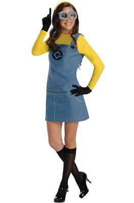 Brand New Despicable Me 2 Female Minion Adult Halloween Costume](Minion Halloween Costume Adults)