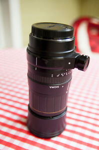 Sigma 135-400mm F4.5-5.6 APO Aspherical