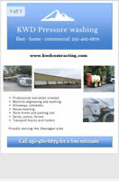 KWD Pressure washing /fleet washing /detailing / comercial