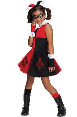 Brand New DC Super Villains Harley Quinn Tutu Toddler/Child Costume - Harley Quinn Tutu Costume