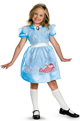 Alice In Wonderland Costume Children (Disney Alice in Wonderland Classic Child Girls)