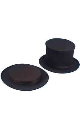 Brand New Magician Collapsible Top Hat (Child) Costume - Celebrity Halloween Costumes For Kids