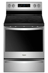 Whirlpool ss electric convection range