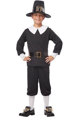 Thanksgiving Pilgrim Boy Colonial Child Costume (Male Pilgrim Costume)