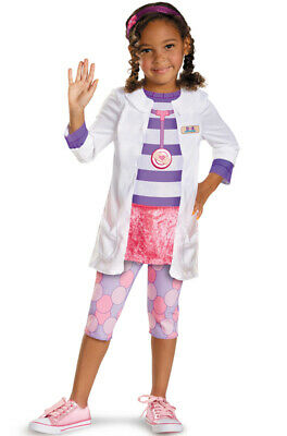 Brand New Disney Doc McStuffins Doc Classic Toddler Halloween Costume