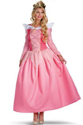 Brand New Sleeping Beauty Princess Aurora Prestige Adult - Princess Aurora Costume Adults