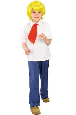 Fred Jones Costume (Brand New Scooby Doo Fred Jones Child)