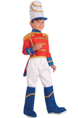 Holiday Toy Soldier Child Costume (M) - Boys Toy Soldier Costume