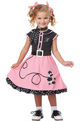 Toddler Poodle Skirts (50's Poodle Skirt Cutie Grease Toddler)