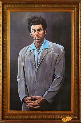 Seinfeld Kramer Portrait TV Show Art Poster Print 24X36