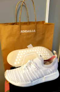 *BNEW* Adidas NMD US9.5 *White*