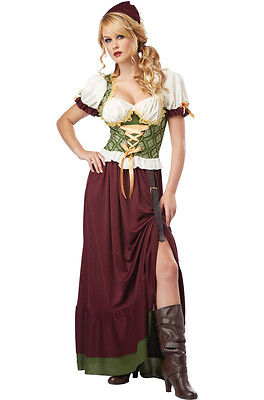 Renaissance Wench Tavern Maiden Oktoberfest Medieval Times Adult - Medieval Times Costumes