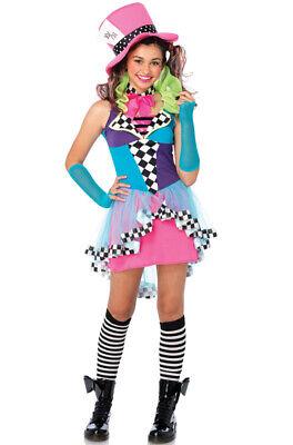 Mayhem Mad Hatter Alice in Wonderland Hatter Teen - Mad Hatter Alice In Wonderland Costume