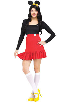 Brand New Miss Mikki Mickey Mouse Adult Costume