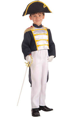 Brand New Colonial General Child Costume (M) Colonial General Child Costume