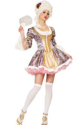 Brand New French Queen Marie Antoinette Adult Halloween Costume