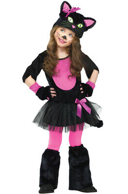 Brand New Miss Kitty Cat Dress Up Outfit Toddler Costume