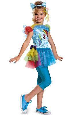 Brand New My Little Pony Rainbow Dash Classic Child Costume - Rainbow Dash Costumes