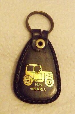1929 Morris Gold Car Keychain Delek Israel