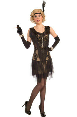 Brand New The Great Gatsby Flapper Lacey Lindy Adult Costume](Great Female Costumes)