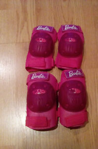 Barbie elbow and knee pads