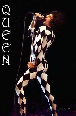 Freddie Mercury-Leotard Poster Print 24x36 Rock & Pop Music Queen