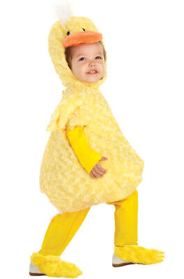 Adorable Animal Duck Toddler Halloween Costume](Adorable Toddler Costumes)