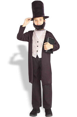 Abraham Lincoln Kids Costume (Classic Abraham Lincoln Child)