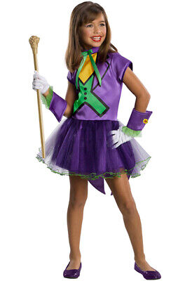 Batman Super Villain The Joker Tutu Toddler/Child Costume - The Joker Costume For Girls