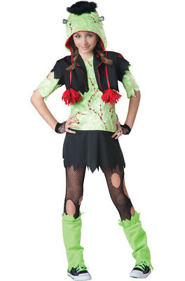 Frankenstein Monster Gurl Tween Halloween Costume](Tween Monster Halloween Costumes)