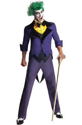 Brand New Batman Gotham City Villain The Joker Adult Costume