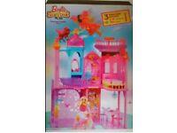 Barbie secret door princess castle
