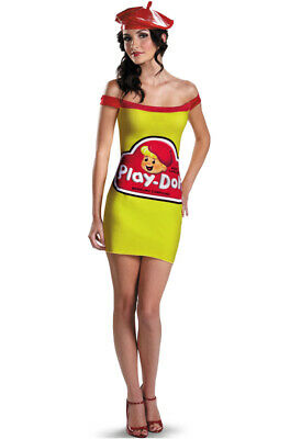 Brand New Play Doh Female Classic Adult Halloween Costume - Halloween Female