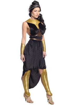 Brand New Spartan Warriors 300 Rise of the Empire Deluxe Queen Gorgo Adult Costu - 300 Spartan Queen Costume