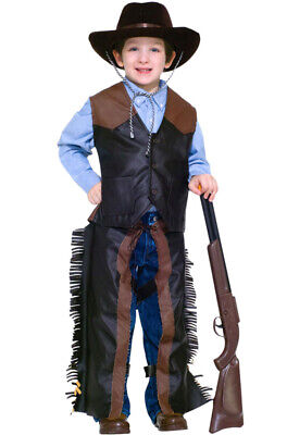 Dress-Up Western Cowboy Outfit  Child Costume -Small