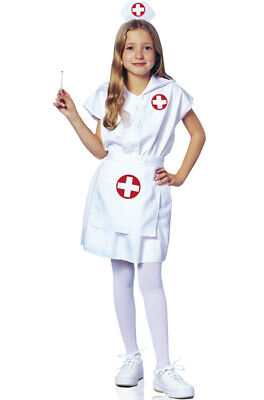 Brand New Lil' Nurse Doctor Child Halloween Costume - Nurse Costume Kids