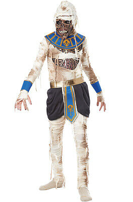Mummy Kids Costume - Egyptian Mummy Pharaoh's Revenge King Tut Child Costume
