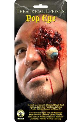 Brand New Terrifying Pop Eye Prosthetic Zombie Costume Make-Up Kit