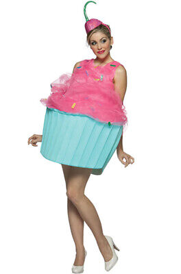 Brand New Sweet Eats Cupcake Dessert Funny Adult Costume