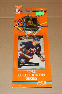 Pro Set 1991-92 hockey card and pin Strathcona County Edmonton Area image 4