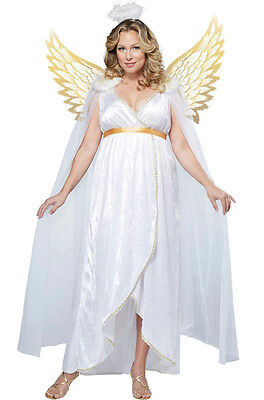 California Costumes Plus Size Guardian Angel Women's Adult Costume 2X 18-20