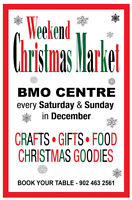 Christmas Market at BMO Centre in Bedford