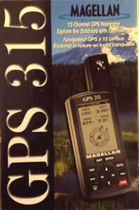Magellan GPS 315, never used.