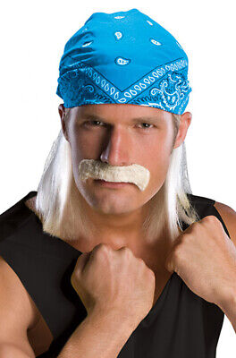Hulk Hogan Wrestling Star Adult Costume Wig](Hulk Hogan Wig)