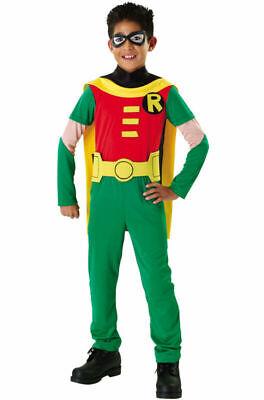 Robin Costume Kids (Teen Titans Superhero Robin Child Costume Halloween Rubie's 882126 Small Age)