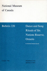 DANCE and SONG RITUALS of SIX NATIONS RESERVE, ONTARIO - 1968