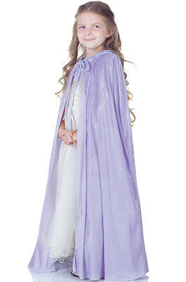 Lavender Panne Princess Storybook Girls Child Costume Cape Accessory