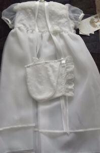 Christening gown - New with tags - 12 months