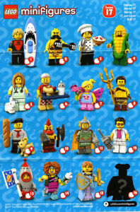 Lego CMF Series 17, brand new in sealed bag